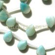 AMAZONITE DROPS - 10X13MM